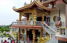 Chùa Linh Sơn - điểm dừng chân của du khách Việt trên đất Ấn Độ