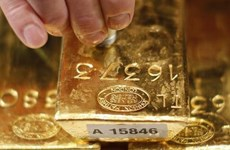 Vàng lên giá trước khi Fed đưa ra quyết sách về lãi suất