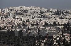 EU sẽ thảo luận với Israel về khu tái định cư của Bờ Tây
