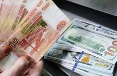 Đồng ruble Nga có nguy cơ rơi trở lại mức thấp nhất trong lịch sử