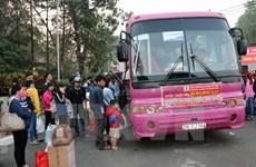 TPHCM tặng hơn 4.000 vé xe cho công nhân về quê đón Tết