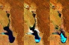 Hồ Poopó lớn thứ hai tại Bolivia bỗng dưng bốc hơi hoàn toàn