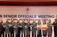 Hội nghị SOM ASEAN tại Lào thảo luận nhiều vấn đề quan trọng