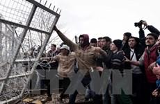 Thủ tướng Đức hối thúc Hy Lạp tăng cường nỗ lực tiếp nhận di dân