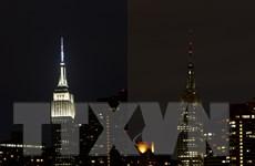 Trụ sở LHQ tại New York tắt đèn hưởng ứng Giờ Trái đất