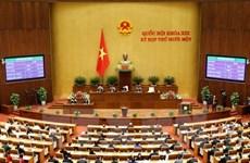 Quốc hội phê chuẩn đề nghị việc miễn nhiệm hai Phó Thủ tướng