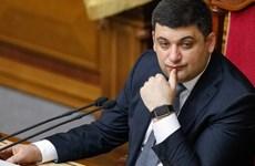 Quốc hội Ukraine bổ nhiệm ông Vladimir Groysman làm Thủ tướng