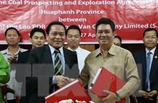 Doanh nghiệp Việt Nam ký khai thác mỏ than đá 60 triệu tấn ở Lào