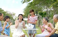 TH ra mắt sản phẩm kem TH true Ice cream từ sữa tươi nguyên chất