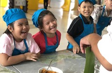 Hào hứng với các lớp học kỹ năng dành cho trẻ ở Vinpearl
