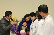 Ca ghép tế bào gốc thành công đầu tiên cho trẻ nhỏ
