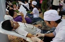 """Huy động 1.000 đơn vị máu ở ngày hội """"Giọt máu vàng"""""""