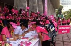 Bộ Y tế phát động ngày hội truyền thông phòng chống ung thư vú
