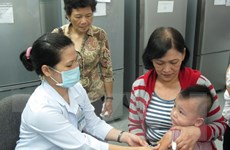 Hơn 368.000 trẻ đã được tiêm vắcxin sởi-Rubella an toàn