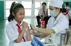 Chiến dịch tiêm vắcxin sởi-Rubella đạt hiệu quả an toàn ở 4 tỉnh-thành