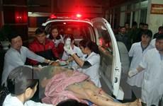 Sập giàn giáo tại Khu kinh tế Vũng Áng: 42 người thương vong