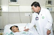 Bệnh nhân bị thương nặng vụ sập giàn giáo Vũng Áng đã ổn định