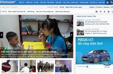 VietnamPlus thay đổi giao diện hưởng ứng ngày nhận thức chứng tự kỷ