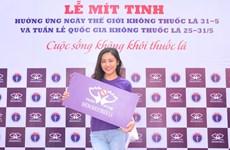Lan Phương, Văn Mai Hương : Kêu gọi môi trường không khói thuốc lá