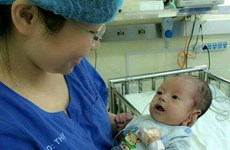 Cứu sống bé trai có 4 dị tật tim bẩm sinh rất phức tạp