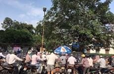 Bệnh viện Bạch Mai thông báo đóng cửa hai bãi trông giữ xe