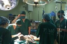 Phẫu thuật sửa hộp sọ dị dạng cho một bé 11 tháng tuổi
