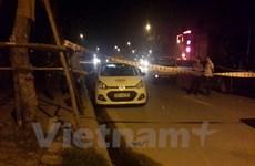 Lái xe taxi bị cứa cổ ở đường Võ Chí Công đã được cấp cứu kịp thời