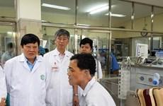 10 bệnh nhân bị sự cố chạy thận đã được chuyển tới Bệnh viện Bạch Mai