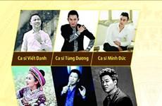 Tùng Dương, Anh Thơ biểu diễn trong đêm nhạc Nguyễn Anh Trí