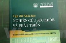 Ra mắt tạp chí khoa học nghiên cứu sức khỏe và phát triển