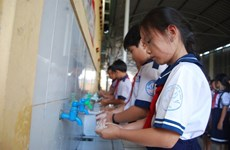 Trà Vinh hướng tới trên 75% dân số rửa tay với xà phòng