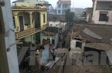 [Photo]: Hiện trường vụ nổ làm 9 người thương vong ở Bắc Ninh