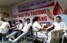 """Hàng nghìn y bác sỹ hiến máu trong """"Chào Xuân hồng 2018"""""""
