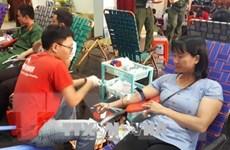 Khánh Hòa: Ngày hội hiến máu Giọt hồng chung sức vì biển, đảo