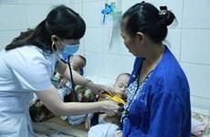 Bệnh sởi đã xuất hiện tại tất cả các quận huyện của Hà Nội