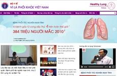 """Bộ Y tế đưa vào hoạt động trang thông tin điện tử """"Vì lá phổi khỏe"""""""