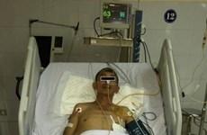 Rơi thang vận từ tầng 5, một người ở Phú Thọ bị đa chấn thương