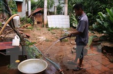 """Thúc đẩy việc """"phủ sóng"""" nước sạch về nông thôn Hưng Yên"""