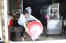 Giám sát vệ sinh môi trường, vệ sinh nguồn nước ở nơi ngập lụt