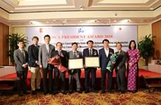 JICA trao giải thưởng cho một cá nhân và bốn đơn vị xuất sắc