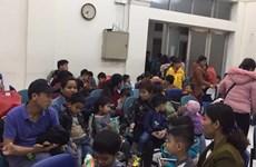 Thêm 500 trẻ ở Bắc Ninh tới khám, xét nghiệm sán lợn