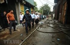 Thành phố Hà Nội hỗ trợ các gia đình nạn nhân vụ cháy ở Nam Từ Liêm