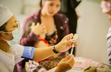 Dịch sởi bùng phát do số lượng trẻ em không được tiêm vắcxin gia tăng