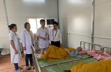 Ngày đầu khai mạc Đại lễ Vesak: Chăm sóc y tế cho 300 người