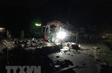 4 bệnh nhân trong vụ tại nạn ở Hòa Bình chuyển về Bệnh viện Việt Đức