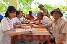 Hà Tĩnh: Khám, tư vấn sức khỏe, cấp thuốc miễn phí cho người dân