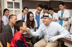 Phẫu thuật chỉnh hình miễn phí cho trẻ khó khăn bị dị tật vùng hàm mặt