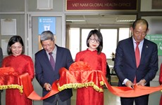 WHO khai trương Văn phòng sức khỏe toàn cầu tại Việt Nam
