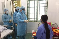 Đội cơ động phản ứng nhanh nCoV đến điểm nóng dịch ở Vĩnh Phúc