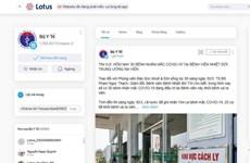 Bộ Y tế ra mắt trang thông tin chính thức trên mạng xã hội Lotus